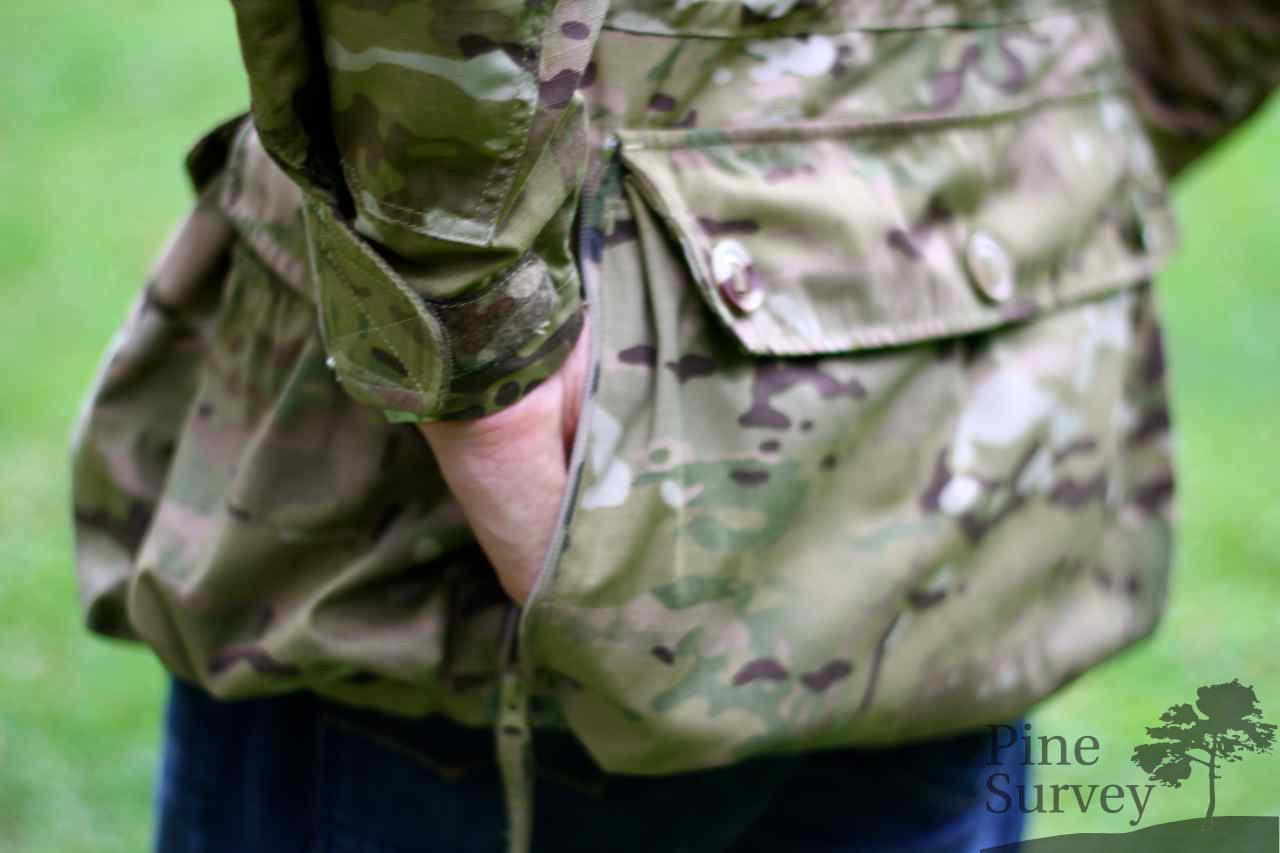 Side access to the poacher pouch