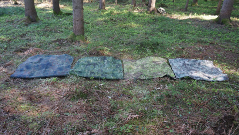 Fieldreview: Camo Comparison – Greenzone, MC Tropic, Flecktarn, Mandrake