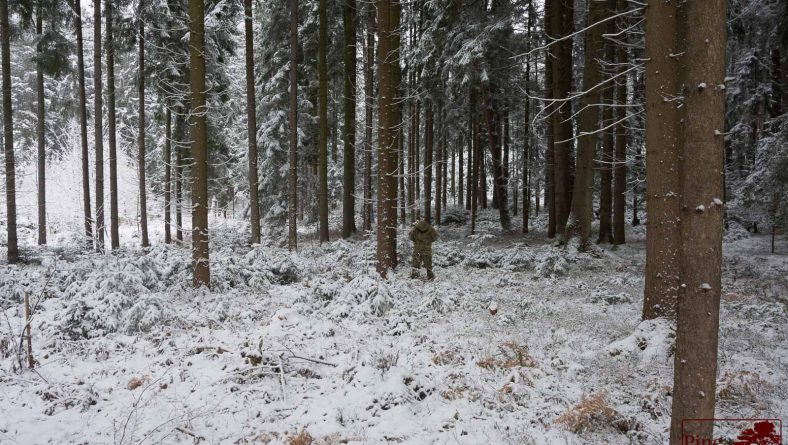 Fieldtest: Regular Camouflage patterns in Winter time – part 2