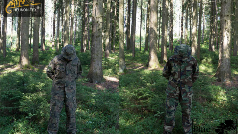 Fieldtest: US M81 versus PL Woodland