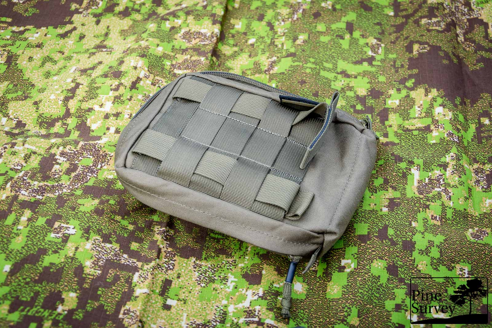 MOLLE webbing on the backside