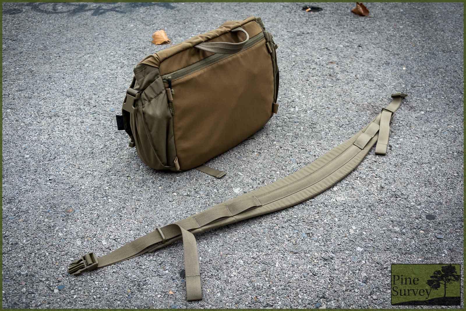 13d3d6ad87f0 Review  Helikon-Tex Urban Courier Bag M - Pine Survey