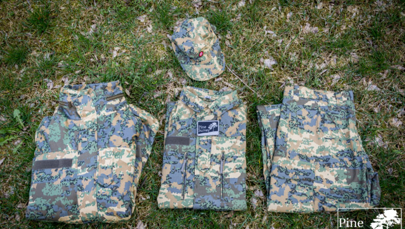 "Fieldtest – ""Tarnanzug Neu"", the new Austrian camouflage pattern"