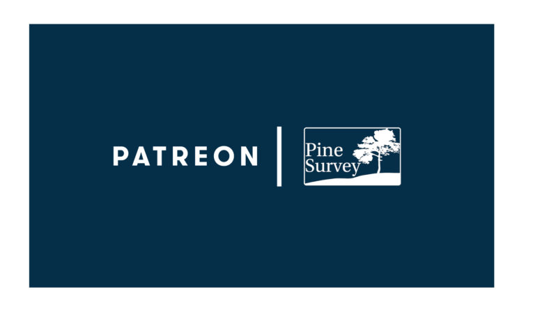 Pine Survey goes Patreon!